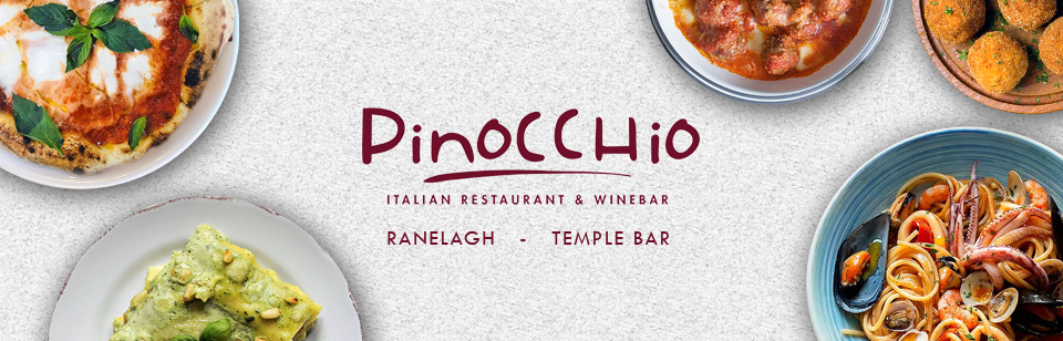 Pinocchio Restaurants collection & delivery food