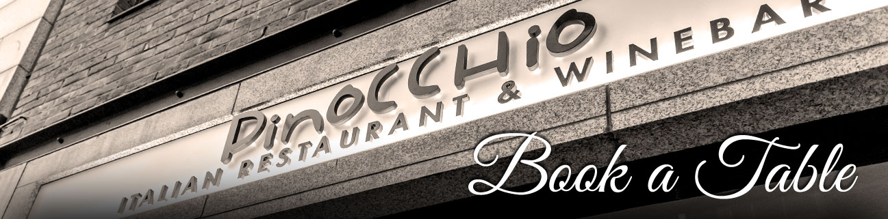 Book a table at Pinocchio Restaurant