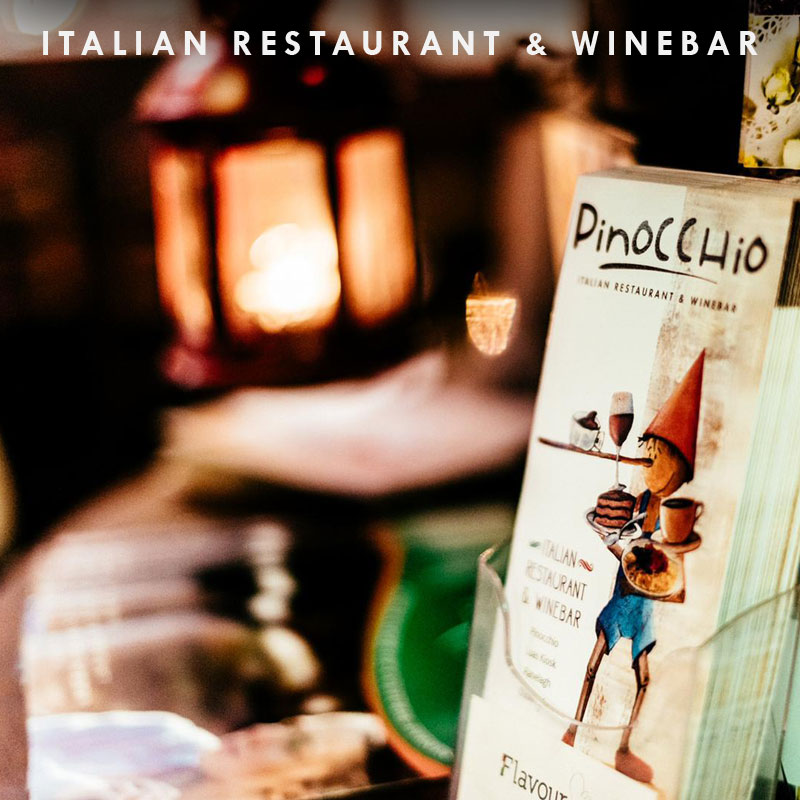 pinocchio italian restaurant dublin